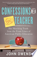 Confessions of a Bad Teacher