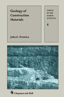 Geology of Construction Materials