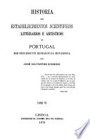 Historia dos estabelecimentos scientificos: 1830-1853