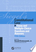 Siegel s Constitutional Law