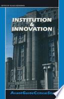 Institution   Innovation