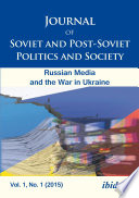 Journal of Soviet and Post Soviet Politics and Society