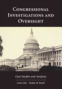 Congressional Investigations and Oversight