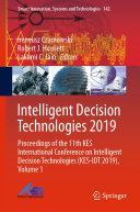 Intelligent Decision Technologies 2019 : ...