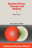 Quantum Theory: Concepts and Methods
