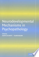 Neurodevelopmental Mechanisms in Psychopathology