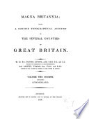 Magna Britannia  a concise topographical account of the several counties of Great Britain  by D  and S  Lysons