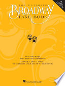 The Ultimate Broadway Fake Book  Songbook