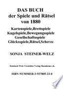 Das Buch der Spiele und R  tsel von 1880