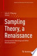 Sampling Theory  a Renaissance