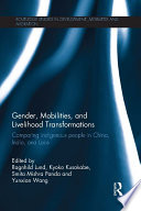 Gender  Mobilities  and Livelihood Transformations