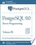 PostgreSQL 9 0 Official Documentation   Volume III  Server Programming