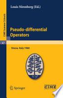 illustration Pseudo-differential Operators