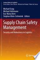 Supply Chain Safety Management