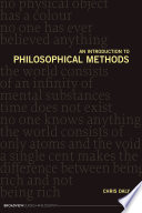 An Introduction to Philosophical Methods