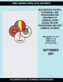 Multiservice Tactics, Techniques and Procedures for Treatment of Chemical Agent Casualties and Conventional Military Chemical Injuries