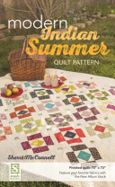 Modern Indian Summer Quilt Pattern  Finished Quilt  73  X 73    Feature Your Favorite Fabrics with the New Album Block