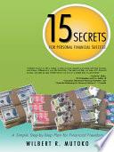 15 SECRETS FOR PERSONAL FINANCIAL SUCCESS