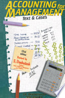 Accounting For Management: Text And Cases, Free download PDF and Read online