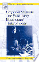 Empirical Methods for Evaluating Educational Interventions