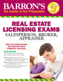 Barron s Real Estate Licensing Exams  10th edition