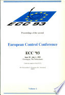 European Control Conference 1993