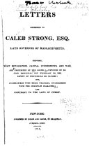 download ebook letters addressed to caleb strong pdf epub