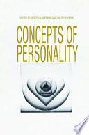 Ebook Concepts of Personality Epub Joseph M. Wepman,Ralph W. Heine Apps Read Mobile