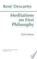 Meditations on First Philosophy  Third Edition