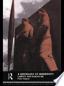 A Sociology of Modernity