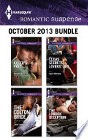 Harlequin Romantic Suspense October 2013 Bundle One Great Price Available Now For A Limited
