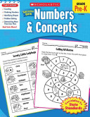 Scholastic Success With Numbers   Concepts