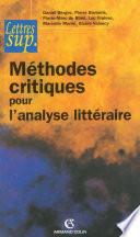 Méthodes critiques pour l'analyse littéraire