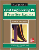 Civil Engineering PE Practice Exams  Breadth and Depth