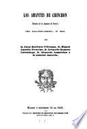 Los amantes de Cinchon  parodia de los amantes de Teruet  pieza tragicomico burlesca  en e versio