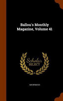 Ballou's Monthly Magazine : important, and is part of the knowledge...