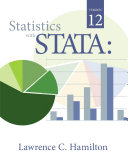 Statistics with STATA: Version 12