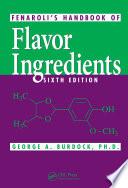 Fenaroli s Handbook of Flavor Ingredients  Sixth Edition
