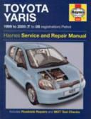 Toyota Yaris Service And Repair Manual