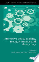 Interactive Policy Making  Metagovernance and Democracy