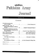 Pakistan Army Journal