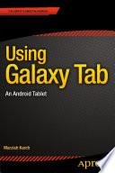 Using Galaxy Tab