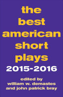 The Best American Short Plays 2015 2016