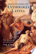 Epigrams from the Anthologia Latina
