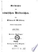 Geschichte Des Romischen Weltreiches