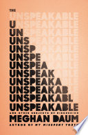 The Unspeakable Book PDF