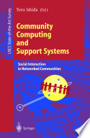 Community Computing and Support Systems