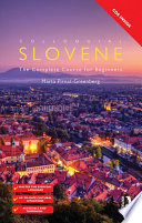 Colloquial Slovene  eBook And MP3 Pack
