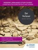 Modern Languages Study Guides  Der Vorleser