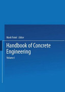 Handbook of Concrete Engineering